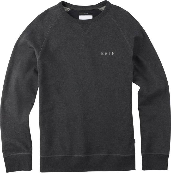 Bluza Burton Brtn. Park Crew (True Black Heather)
