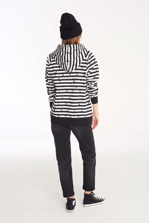 Bluza Damska Femi Zebra (Black/White)