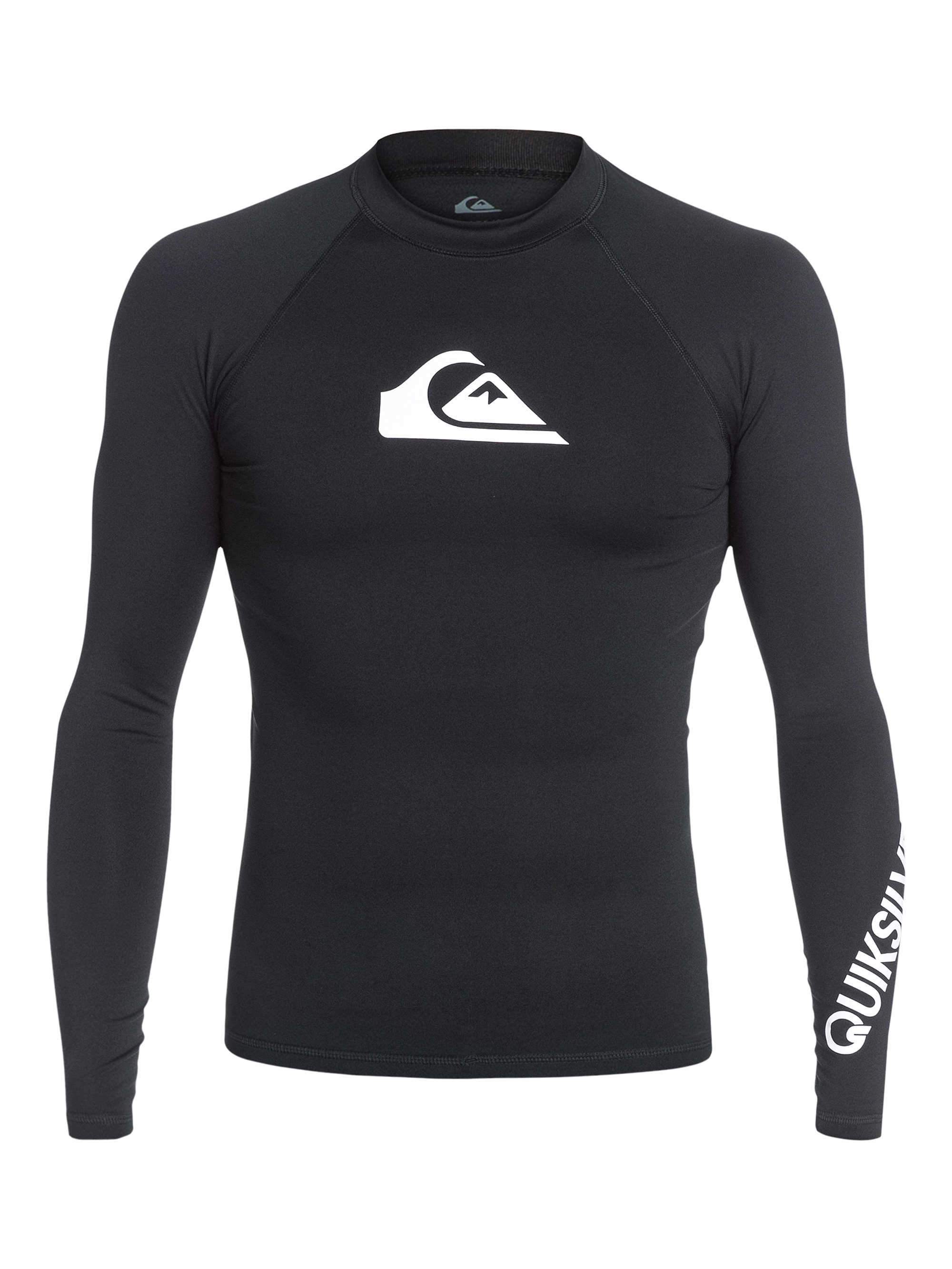 Lycra Quiksilver All Time Long Sleeve Rushguard (Black) Ss18