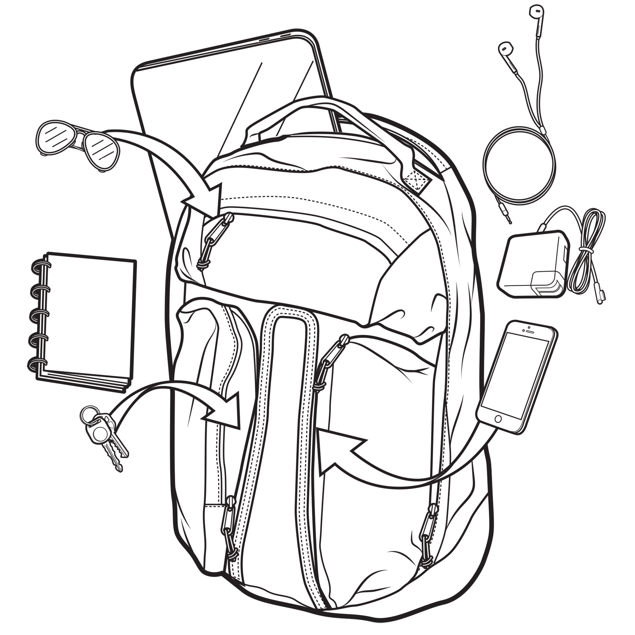 Plecak Burton Curbshark (Grey Heather Diamond) Ss17