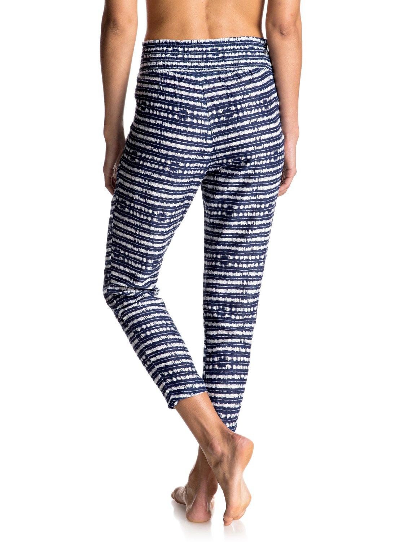 Spodnie Roxy Ultra Violet Printed Jogger Pants (Blue Depths) Ss17