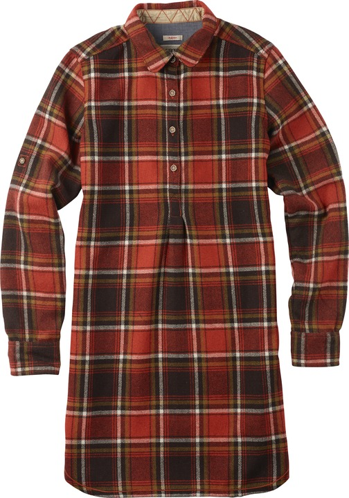 Koszula Burton Pearl Po Wvn (Flame District Plaid)