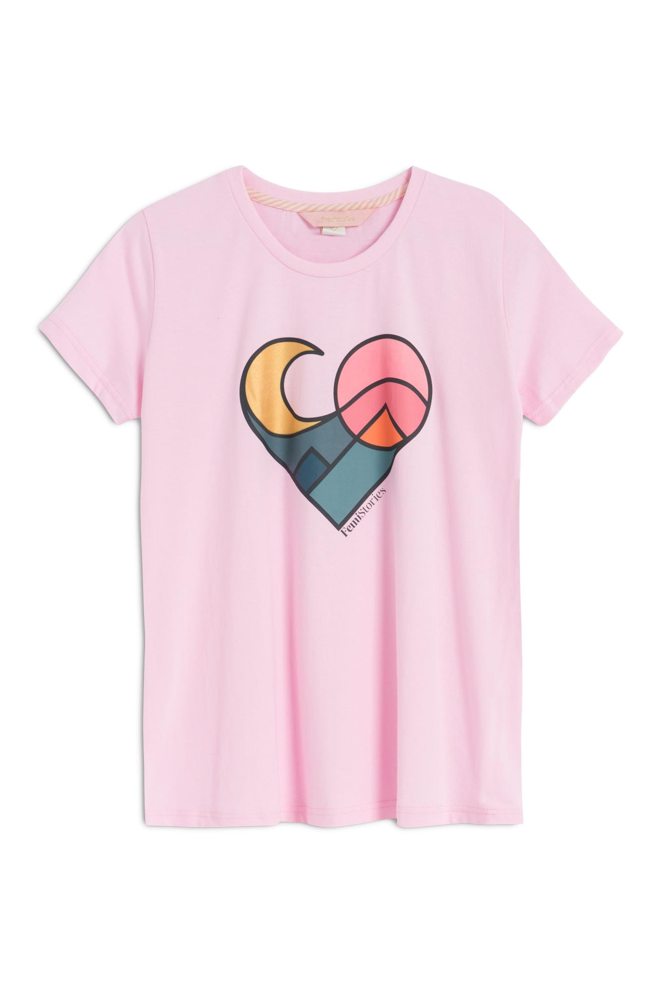 Koszulka Damska Femi Darna A (Pink) Ss18