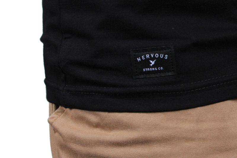 Koszulka Nervous World (Black) Ss17