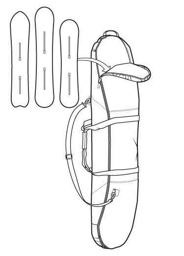 Pokrowiec Burton Space Sack (Mood Indigo) W19