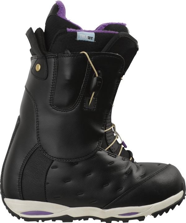 Buty Snowboardowe Burton Supreme (Black/ Purple)