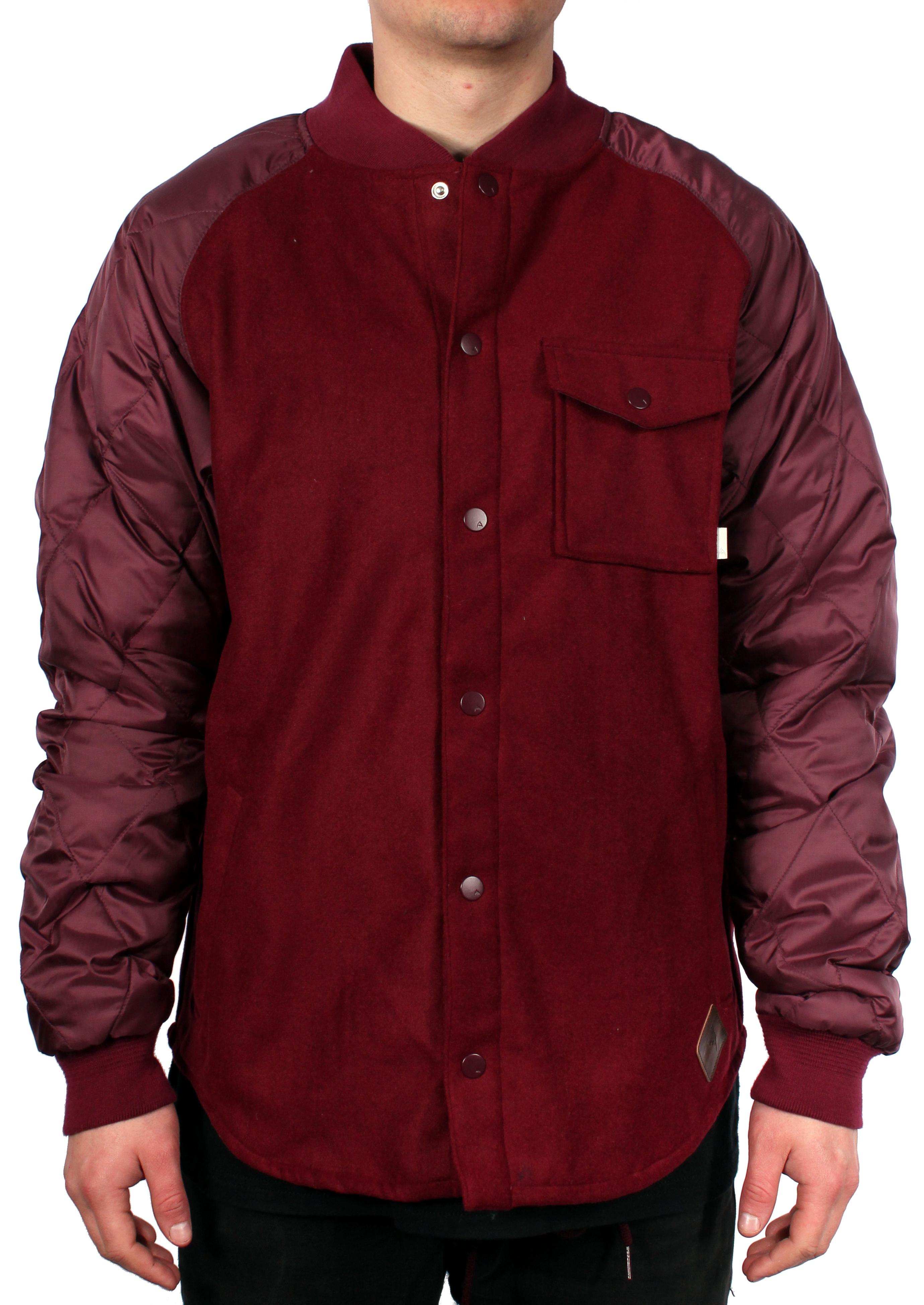 Bluza Ocieplana Burton Ackley Flannel (Sangria)