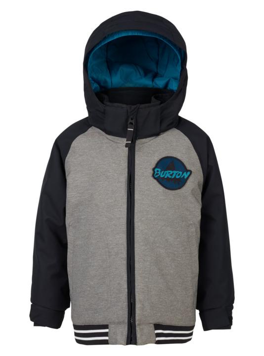 Dziecięca Kurtka Snowboardowa Burton Boys Minishred Game Day Jacket (Heather Bog True Black) W18