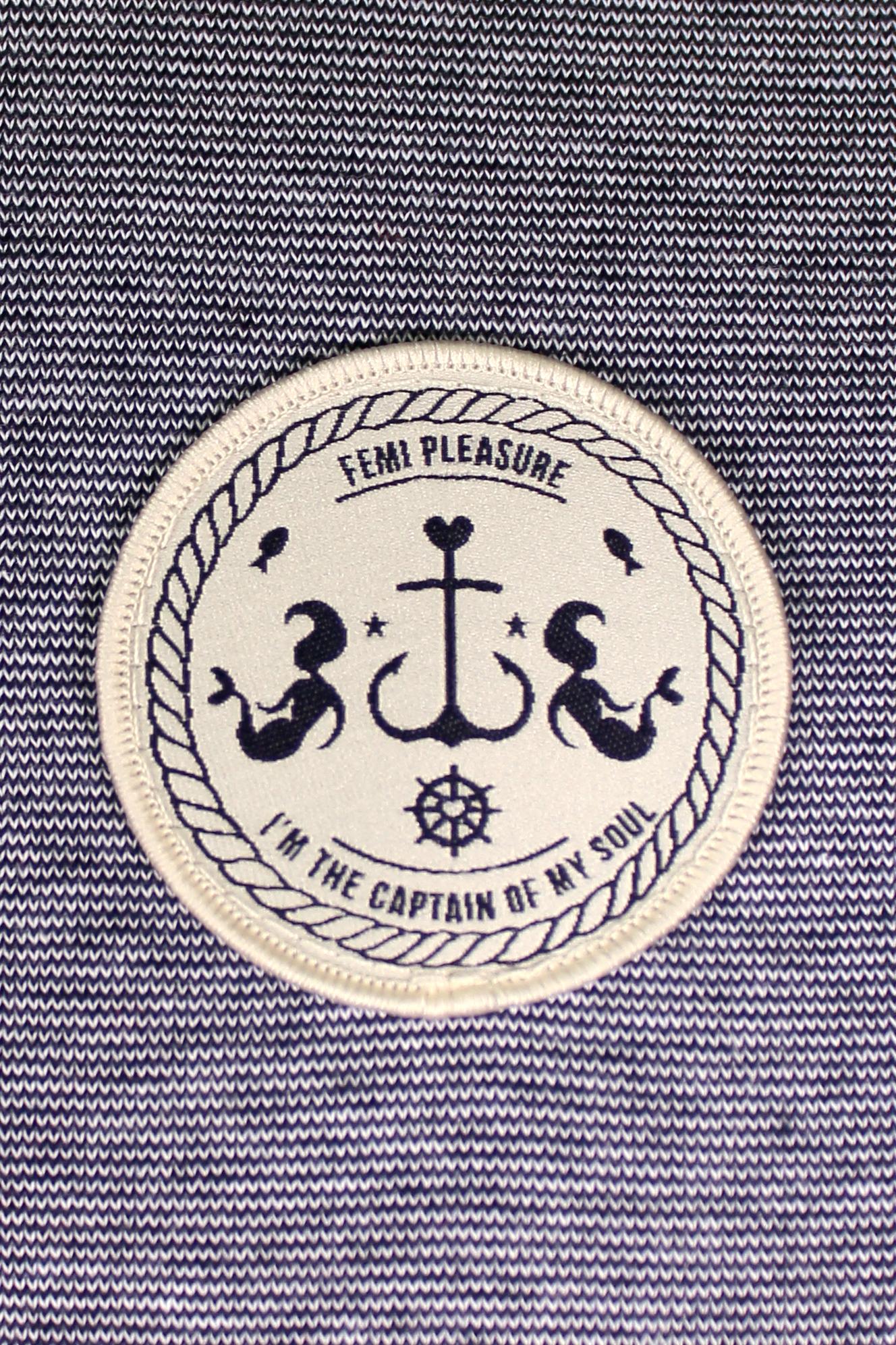 Sukienka Damska Femi Pleasure Tanga (Navy Vanilla Stripe)