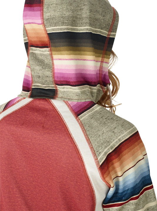 Bluza Damska Burton Scoop Hdd (Sparrow Heather Mija Stripe) W18