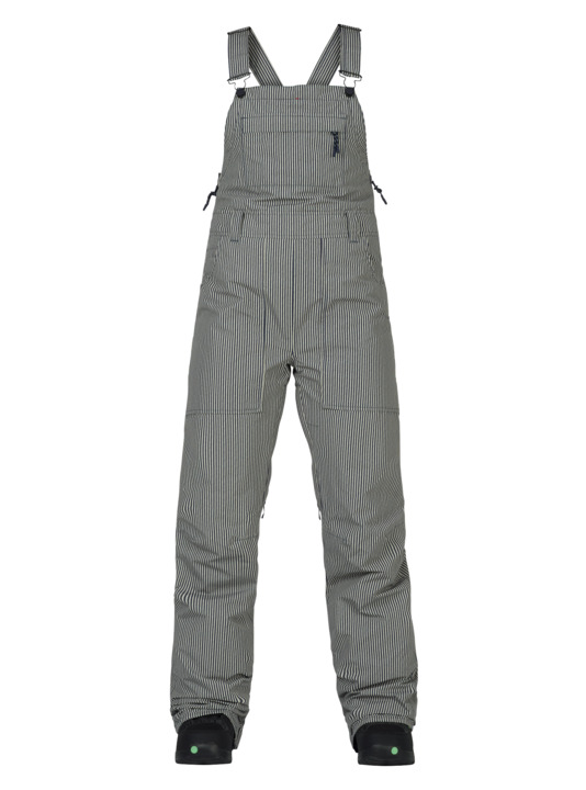 Spodnie Snowboardowe Burton Avalon Bib (Choo Choo Stripe) W18