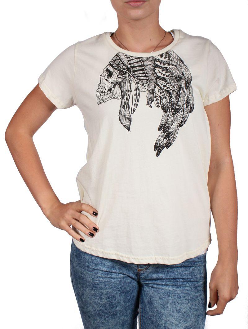 Koszulka Damska Burton Headdress (Vanilla)