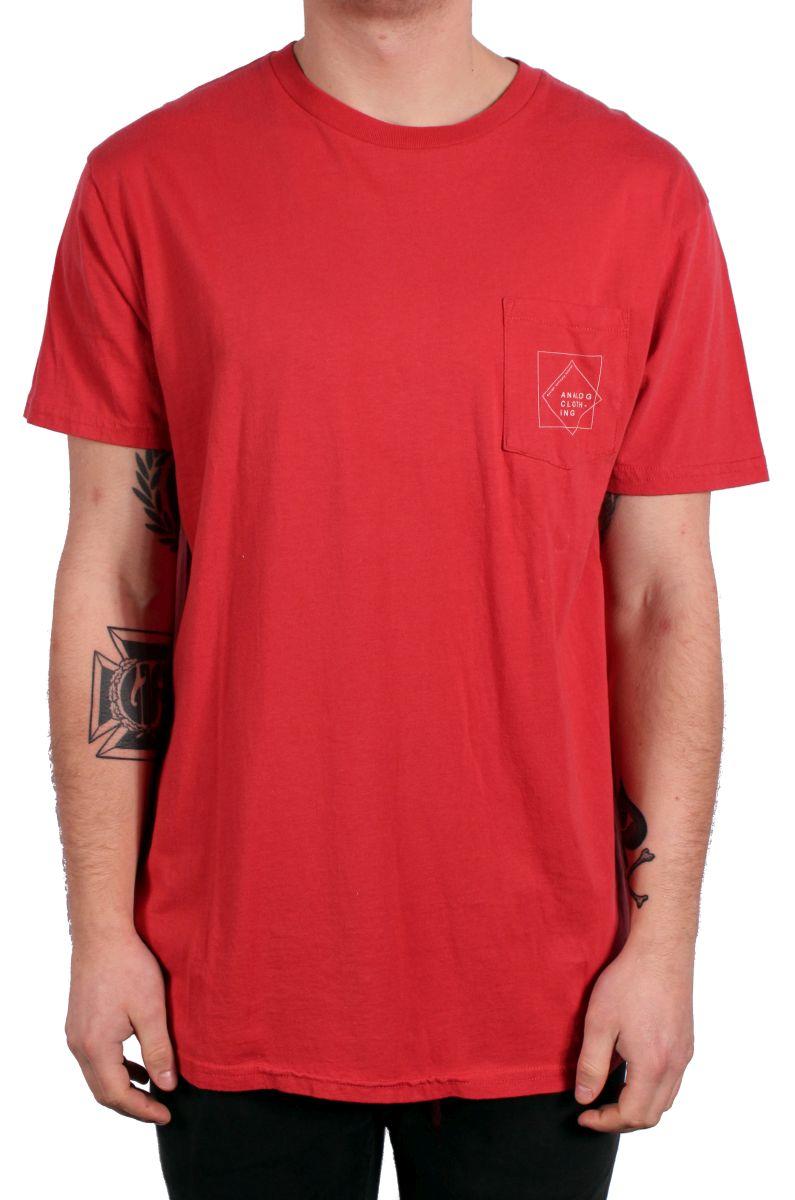 Koszulka Analog Squared (Red Fade)