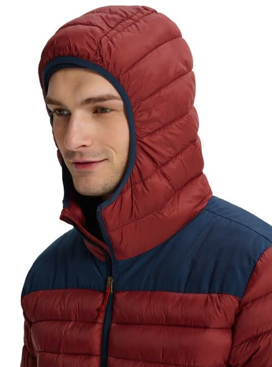 Ocieplacz Burton Evergreen Hooded Synthetic Insulator ( Sparrow / Mood Indigo) W19