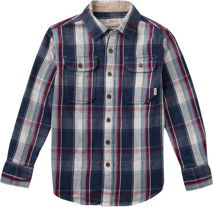 Koszula Dziecięca Burton Boys Brighton (Smoke Blue Impulse)