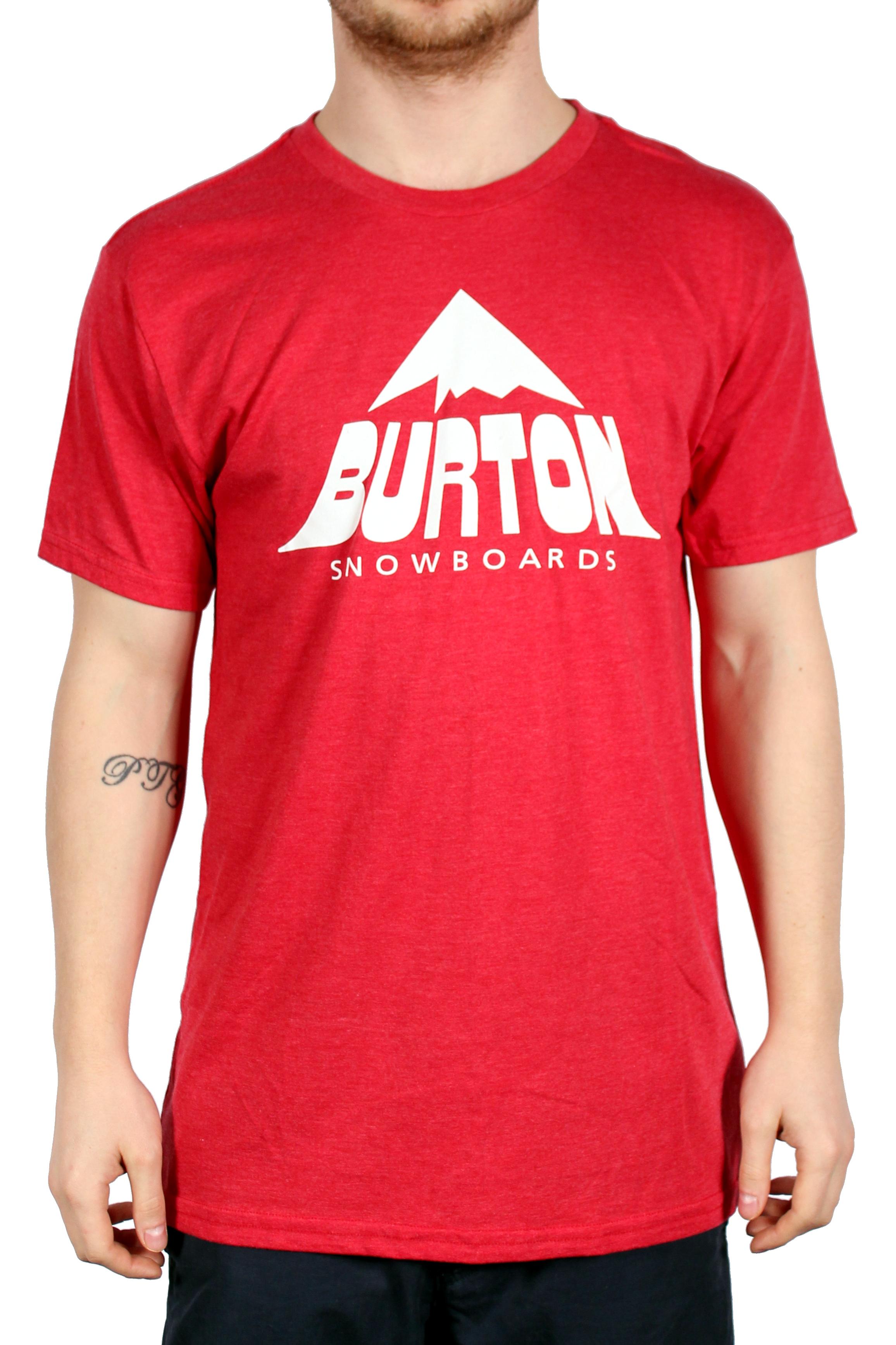 Koszulka Burton Mckinley Recycled (Heather Cardinal)