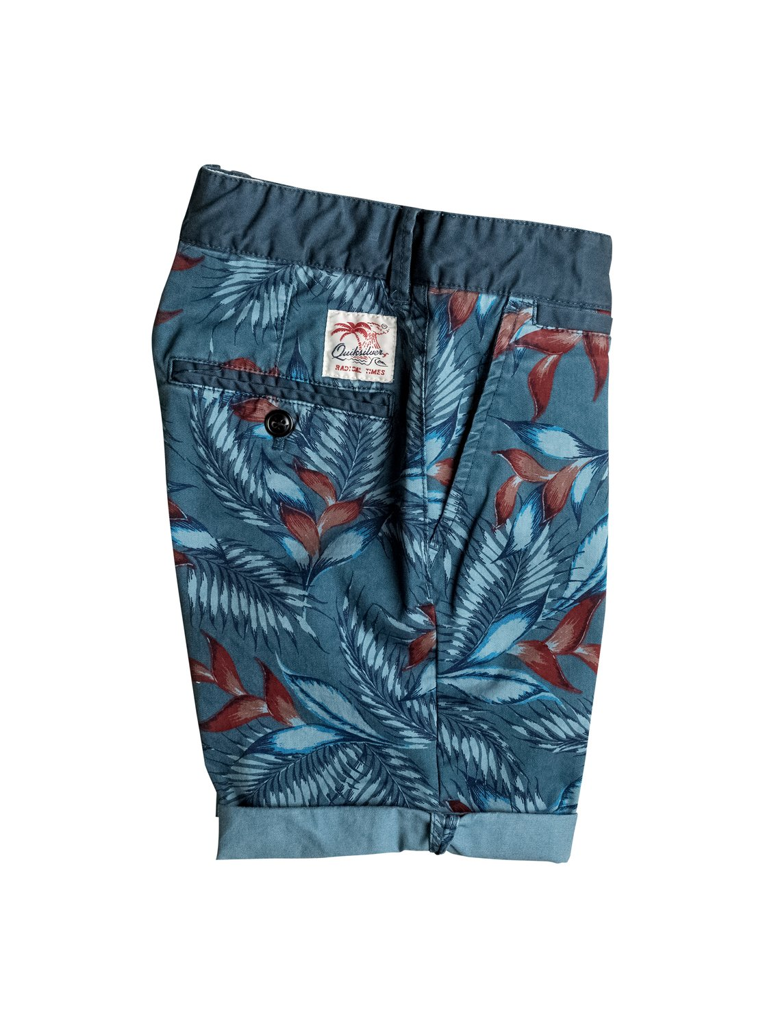Dziecięce Szorty Quiksilver Paradise Point (Indian Teal) Ss17