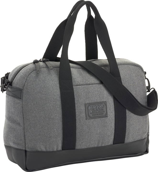 Torba Burton Stacie Laptop Duffel (Gray Wool Leather)