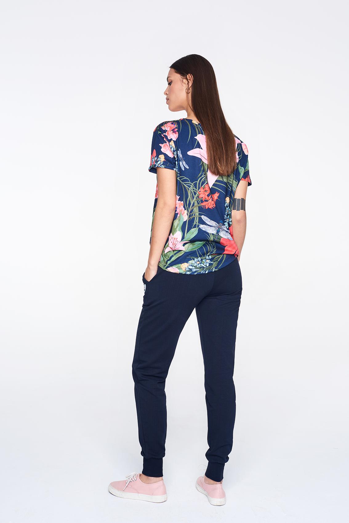 Koszulka Damska Femi Ayo (Lilac Navy)