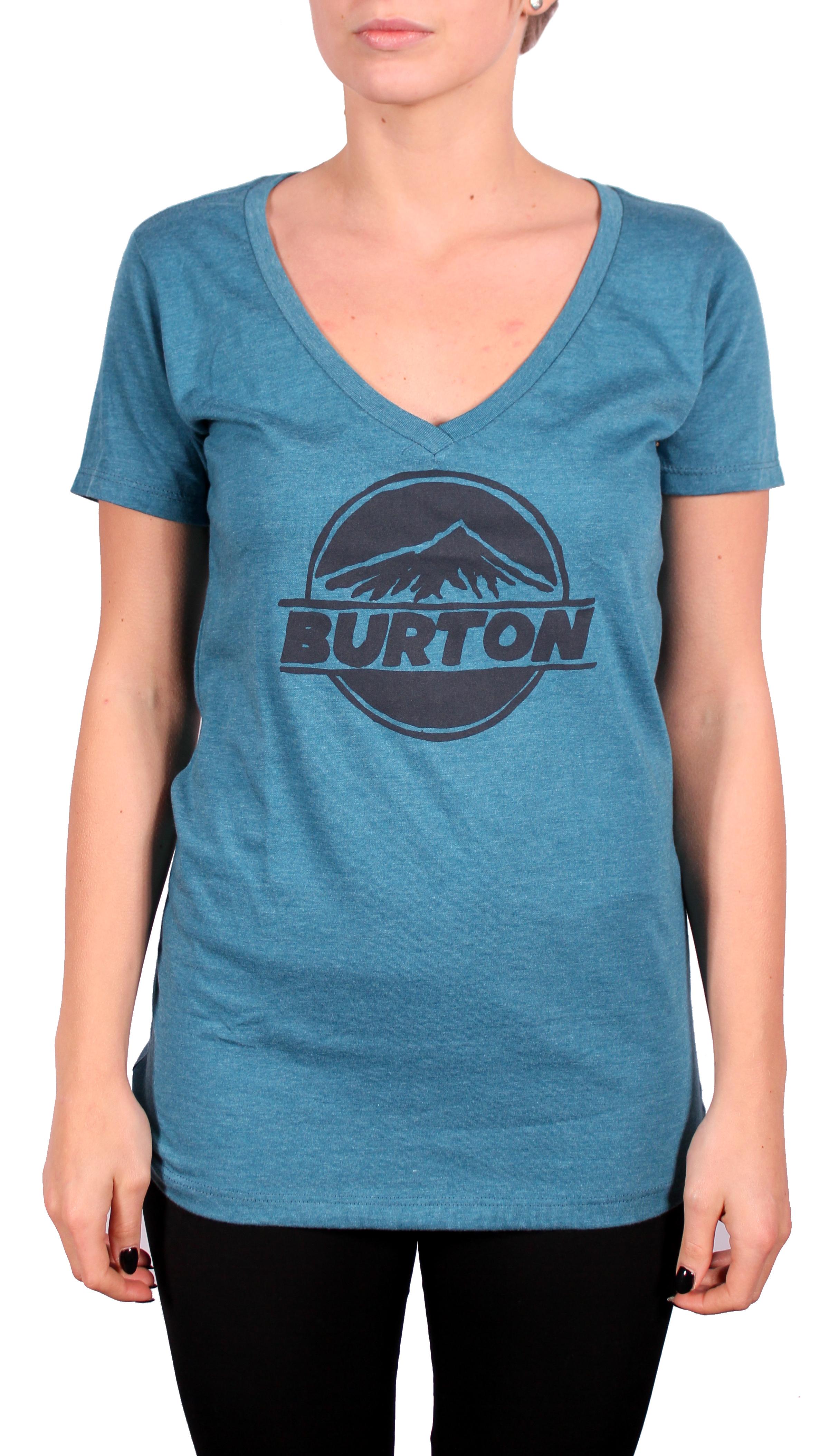 Koszulka Damska Burton Peaked Rec (Heather Cerulean)
