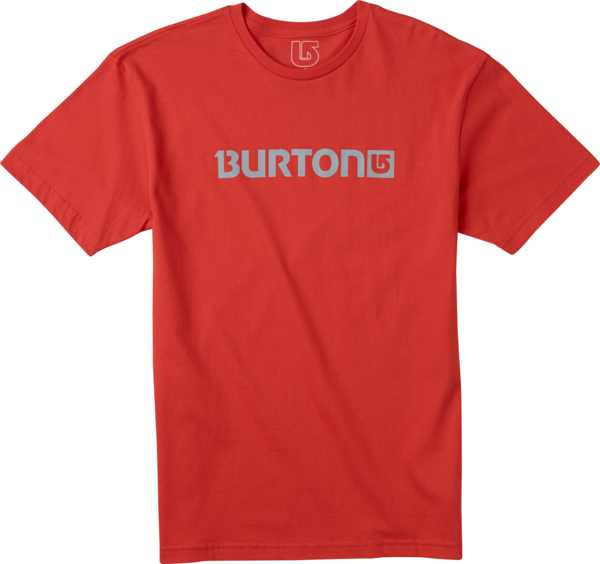 Koszulka Burton Logo Horizontal (Fiery Red)
