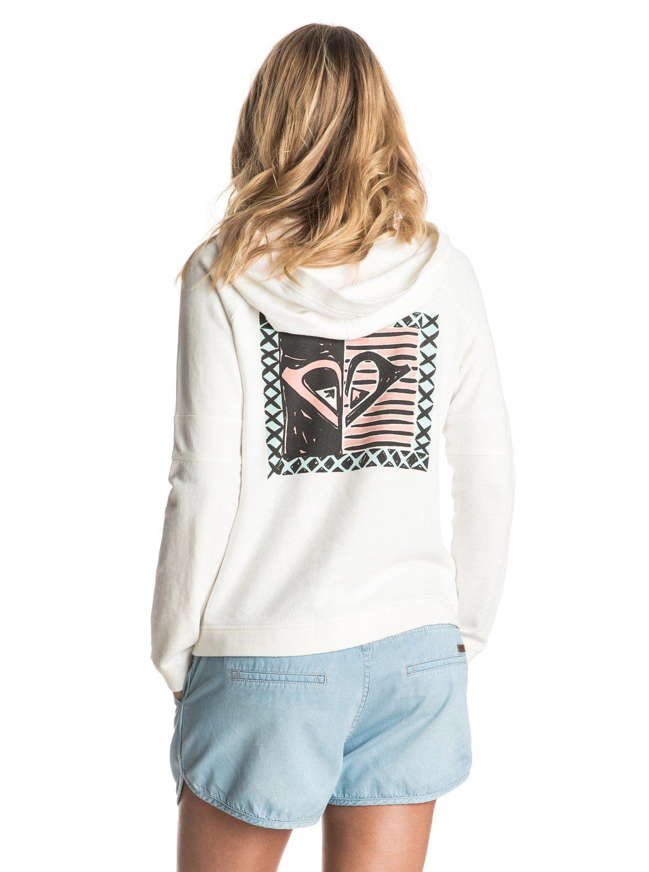 Bluza Roxy Hollow Dance Zip-up Hoodie (Marshmellow) Ss17