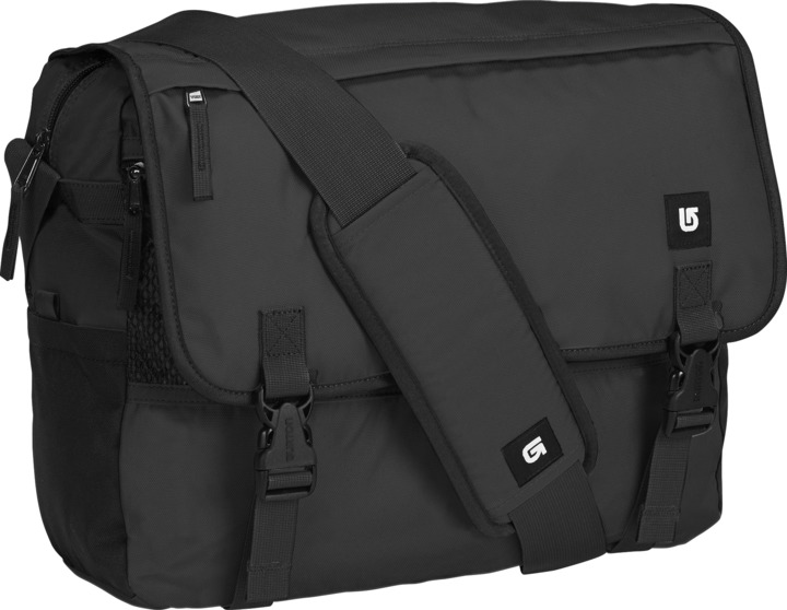 Torba Burton Synth Messenger (True Black)