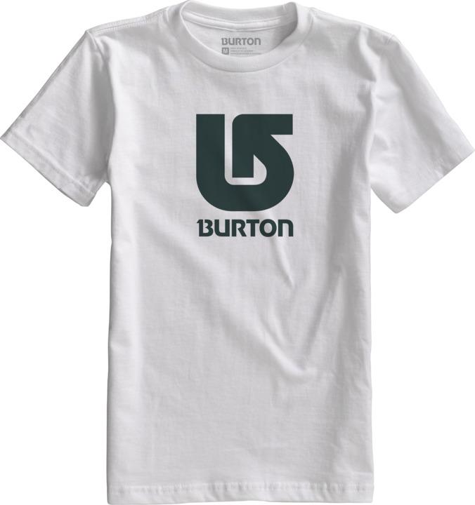Koszulka Burton Logo Vertical (Stout White)