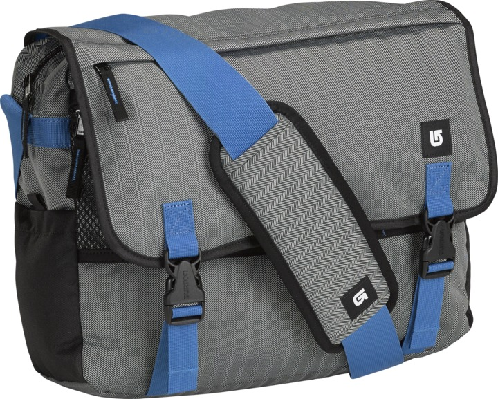 Torba Burton Synth Messenger (Pewter Heather)