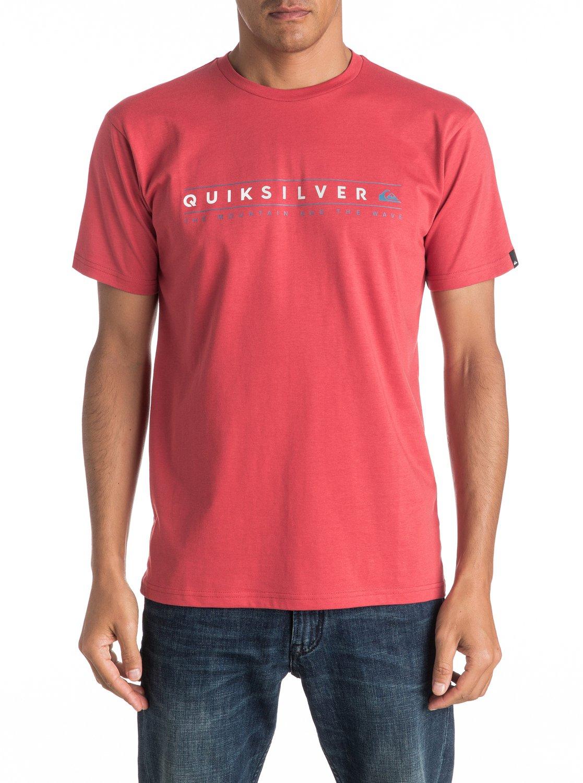 Koszulka Quiksilver Always Clean (Cardinal) Ss17