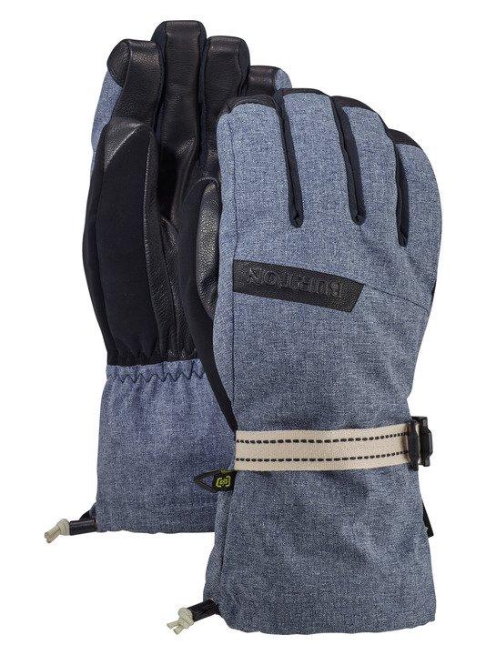 Rękawice Snowboardowe Burton Gore Deluxe (Mood Indigo Heather) W19