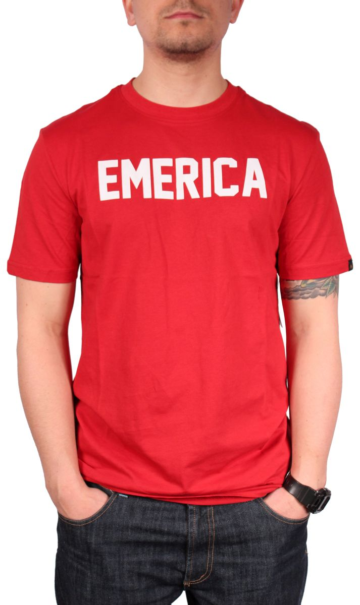 Koszulka Emerica Standard Issue (Red)