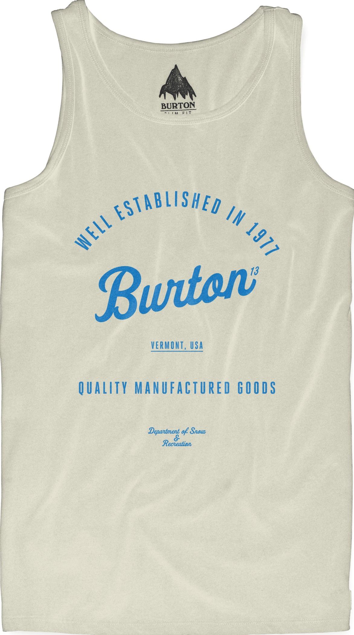 Koszulka Burton Qlty Goods Tank (Vanilla)