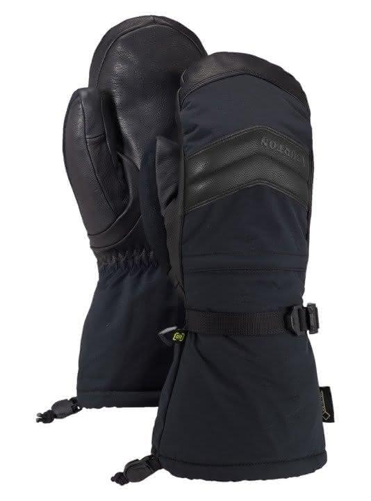 Damskie Rękawice Snowboardowe Burton Gore Warmest Mitt (True Black) W19