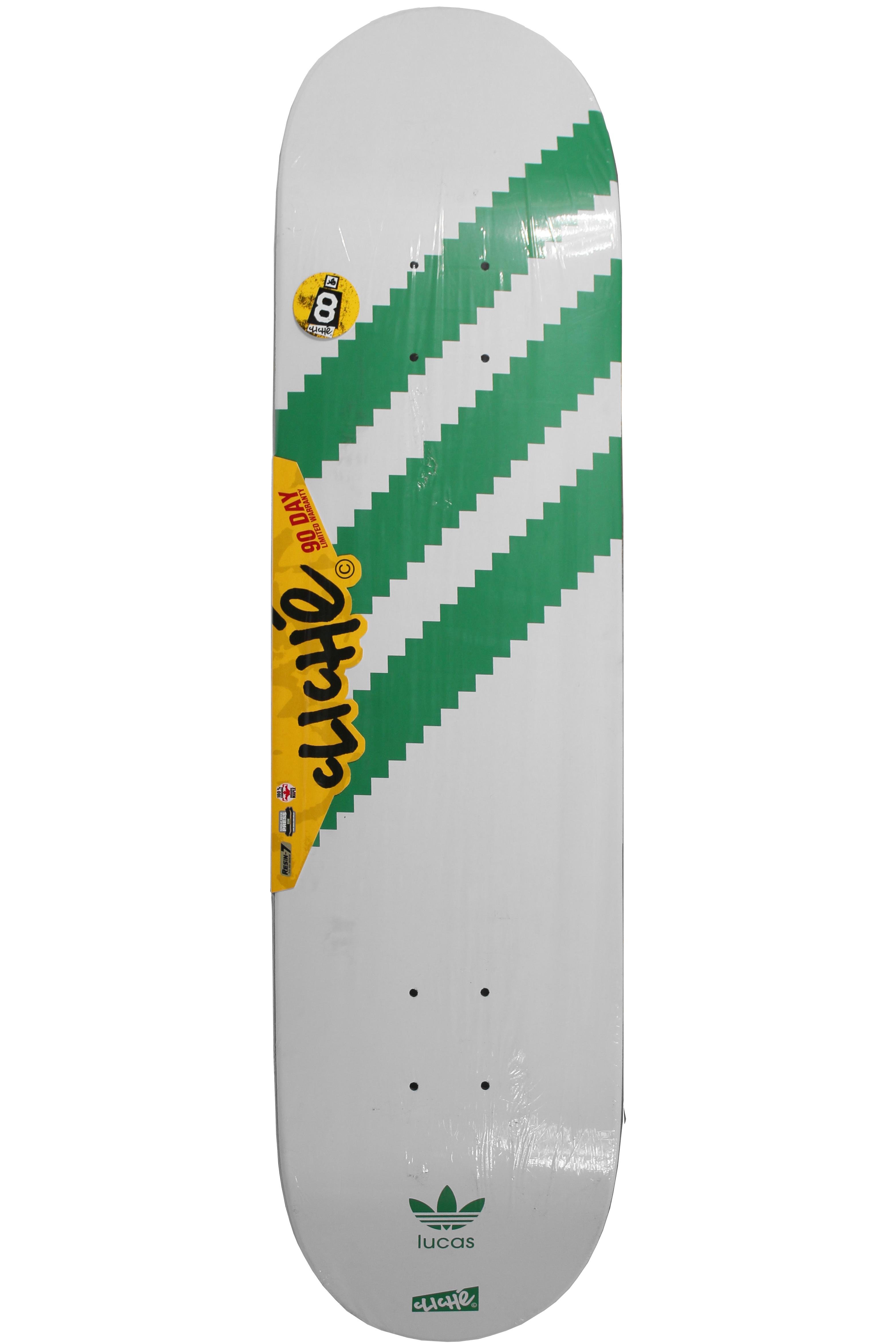 Deska Cliche Adidas Originals White/Green
