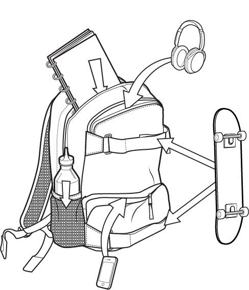 Plecak Burton Treble Yell Pack (Lowland Camo Herringbone)