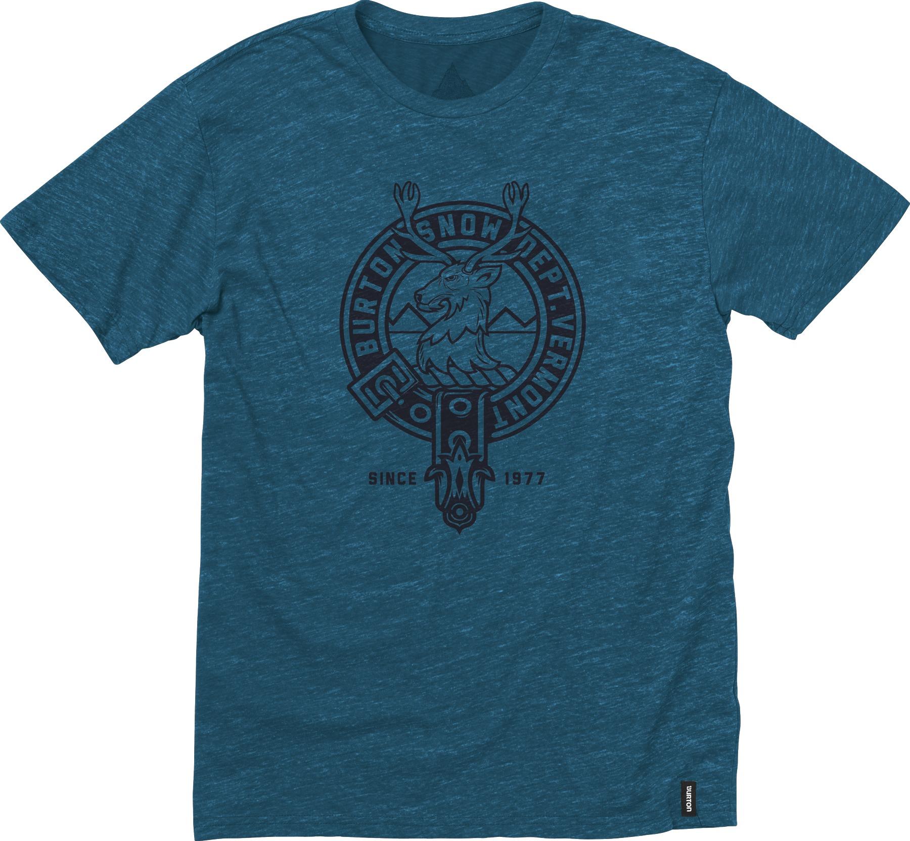 Koszulka Burton Ryl Ord Tri Htr (Heather Cerulean)