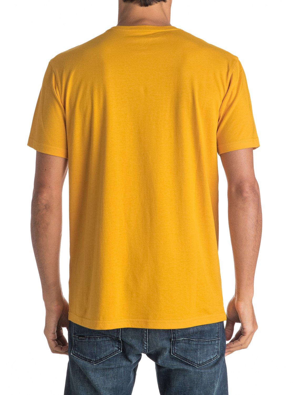 Koszulka Quiksilver Silvered (Golden Glow) Ss17
