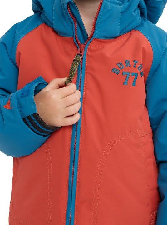 Dziecięca Kurtka Snowboardowa Burton Boys Minishred Game Day Jacket (Hot Sauce / Celestial) W19
