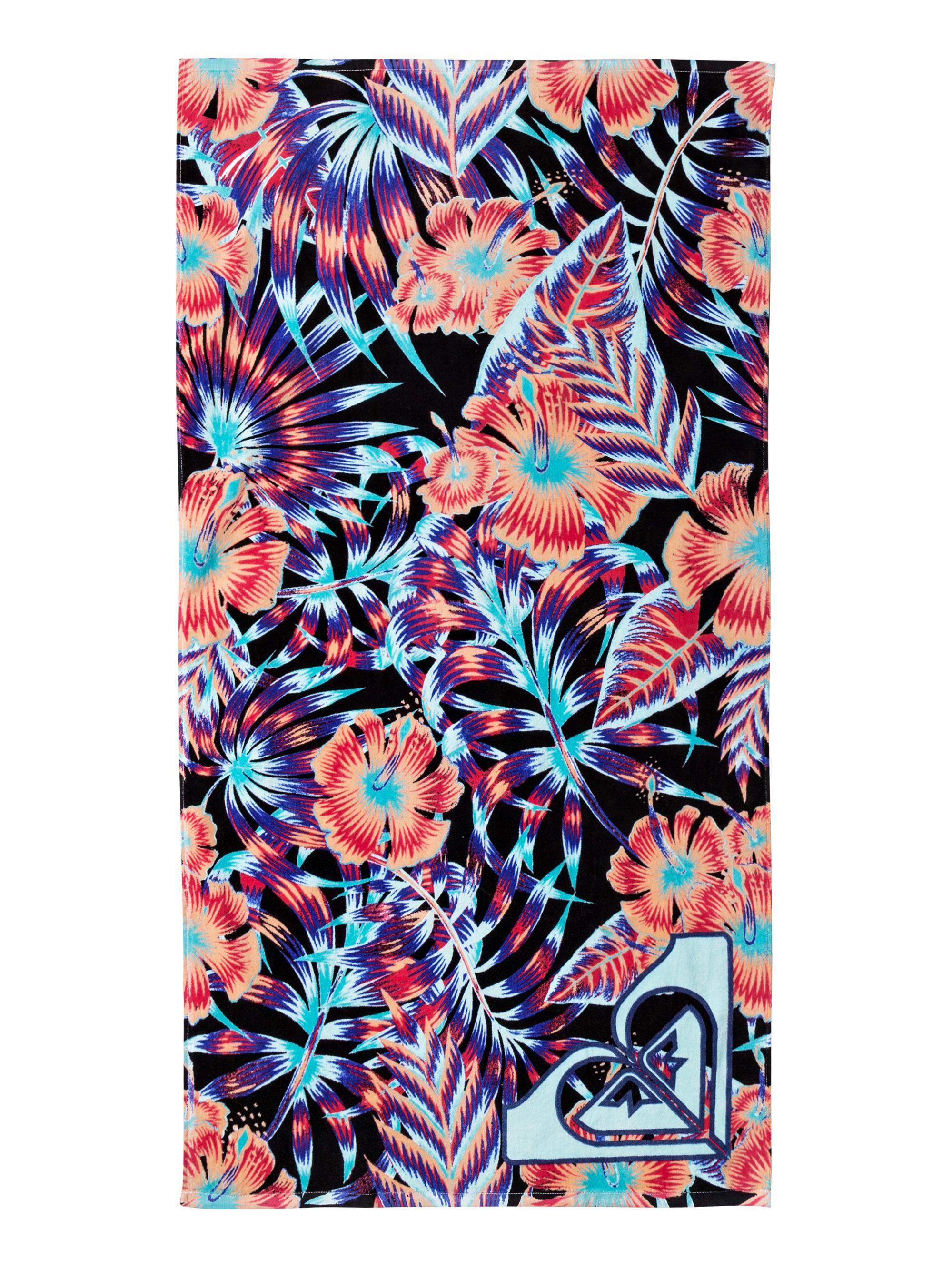 Dziecięcy Ręcznik Roxy Pretty Simple (Anthracite Tropical Dream) Ss18