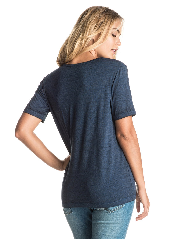 Koszulka Damska Roxy Puerto Pic (Blue Depths) Ss17