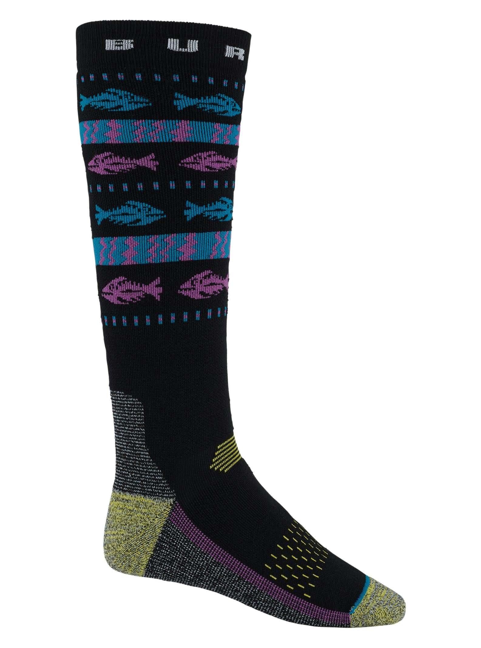 Skarpety Snowboardowe Burton Performance Midweight Retro Sock (1992) W19