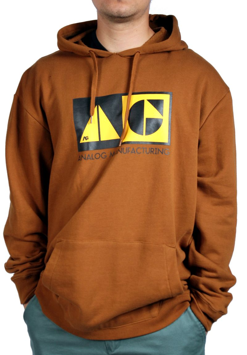 Bluza Analog Mfg (Leather Brown)
