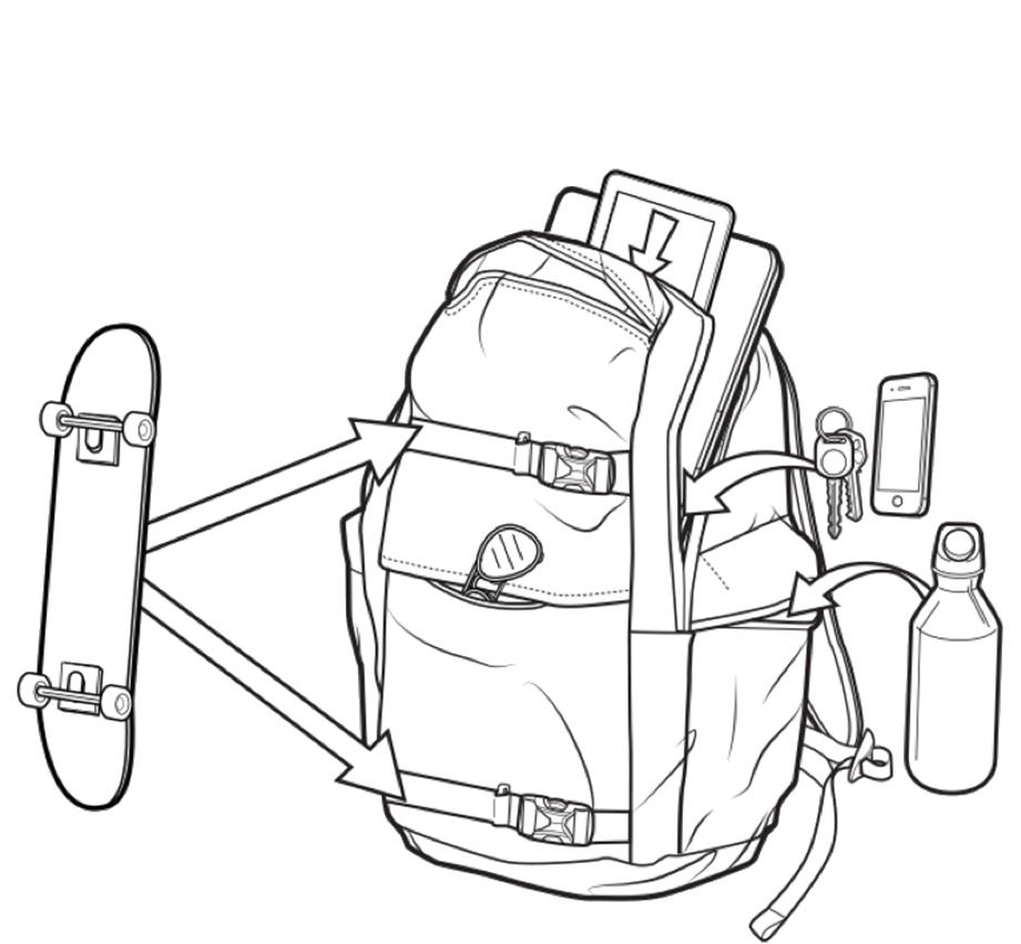 Plecak Burton Kilo Pack (Wrangler Stripes)