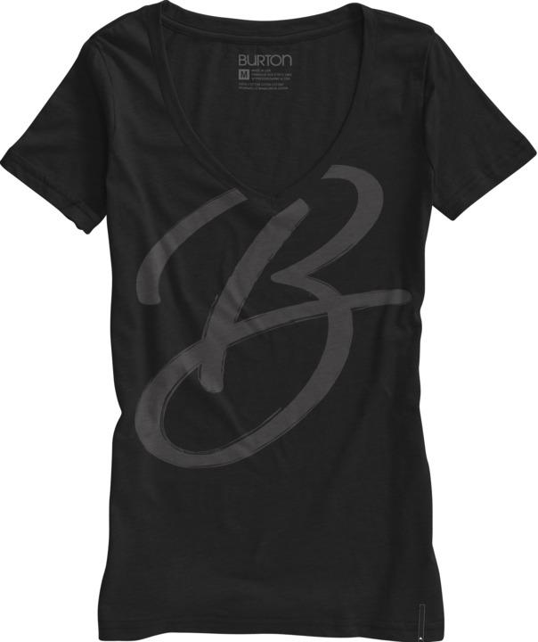 Koszulka Damska Burton Brushed (True Black)