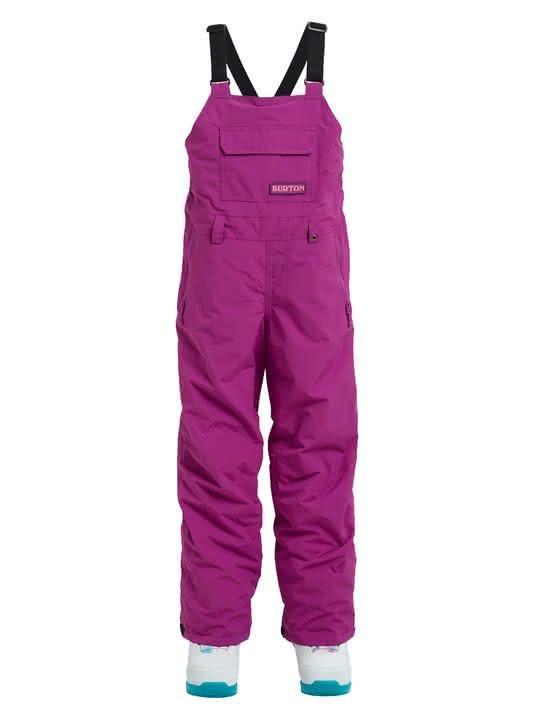 Dziecięce Spodnie Snowboardowe Burton Youth Skylar Bib (Grapeseed) W19