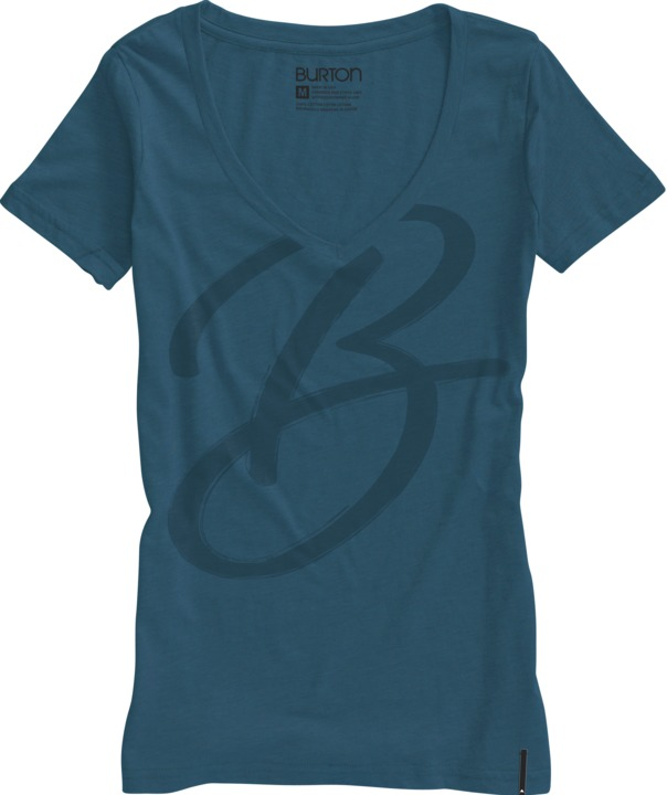 Koszulka Damska Burton Brushed (Cerulean)