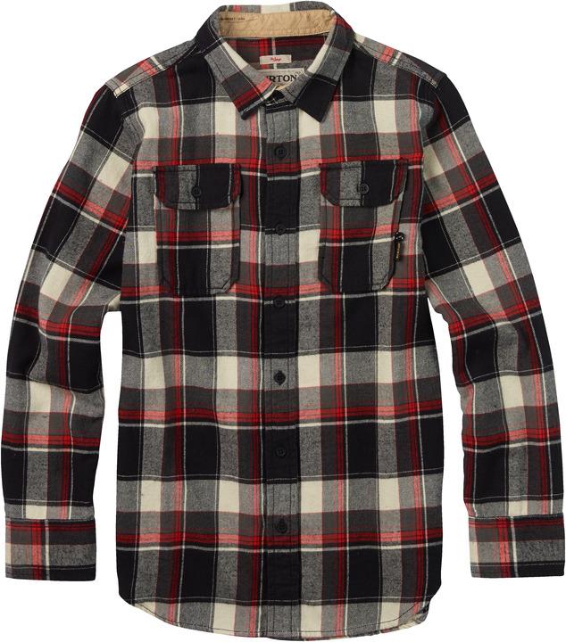 Koszula Dziecięca Burton Boys Brighton Woven (True Black Impulse)