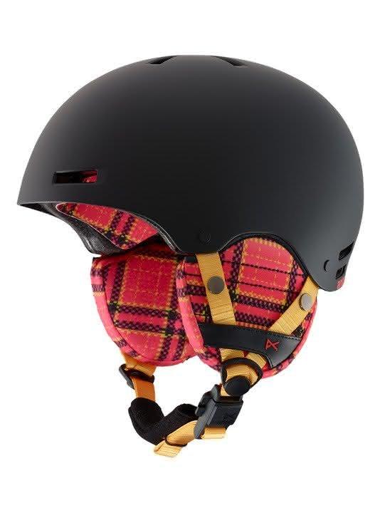 Dziecięcy Kask Snowboardowy Anon Rime (Flannel Black) W19
