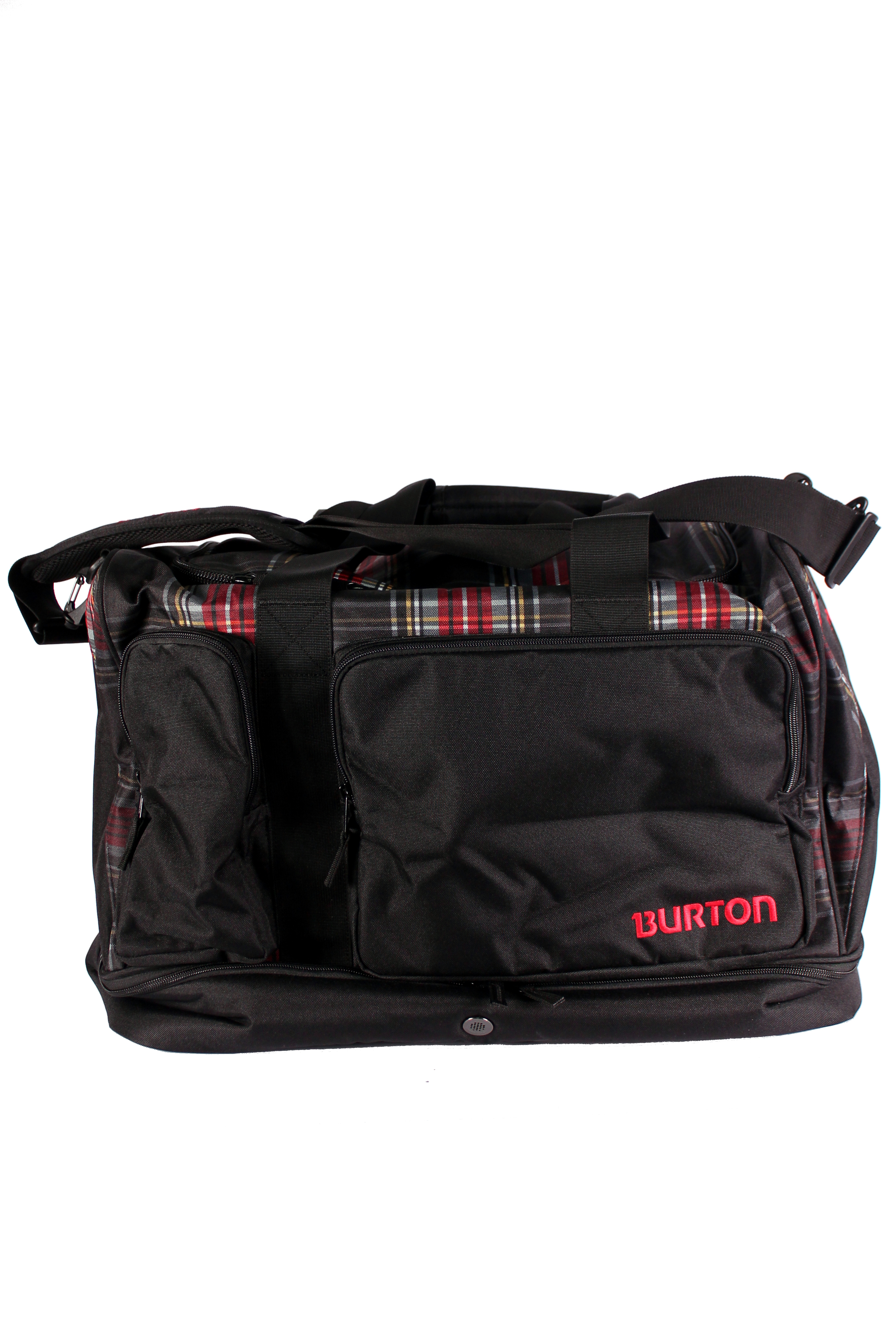Torba Burton Riders Bag (Black Plaid)